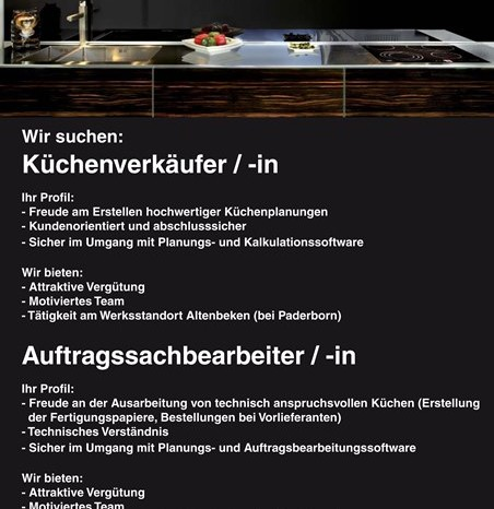 Kuchenfachberater In Und Auftragssachbearbeiter In Muller Kuchen