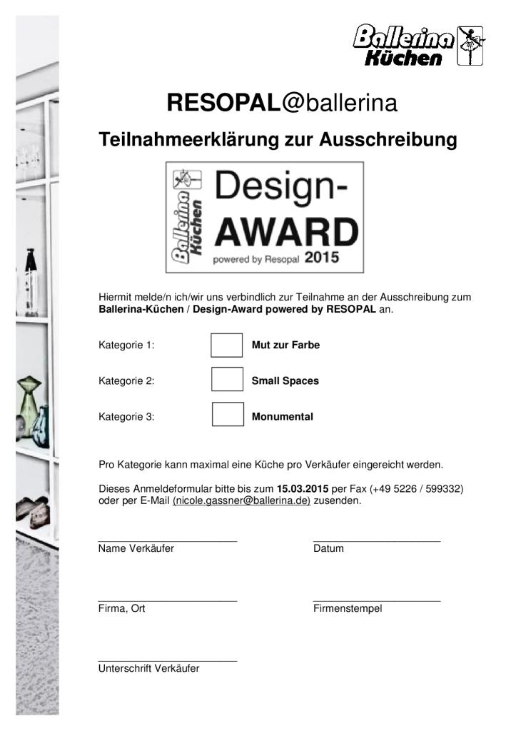 Award-Unterlagen D-003