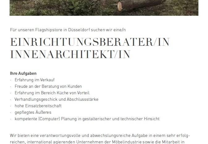 Einrichtungsberater/in o. Innenarchitekt/in für Team 7 - MÖFA BLOG ...