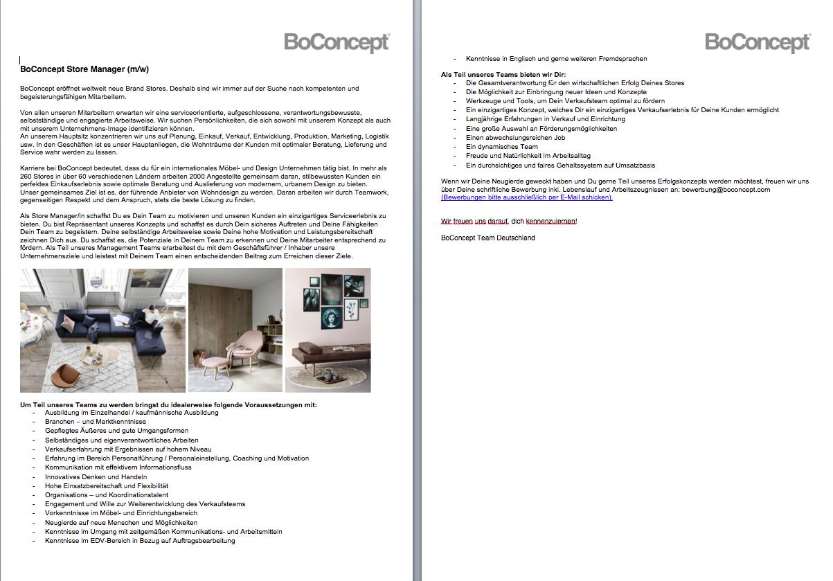 Boconcept Store Manager Mw 180426 Möfa Blog Der Blog Der