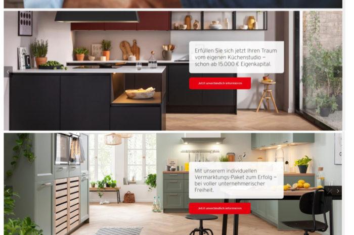 Gründung des eigenen Küchenstudios